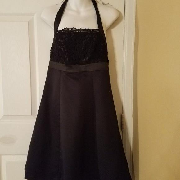 Target Dresses Limited Edition Formal Dress Black Halter 8 Poshmark
